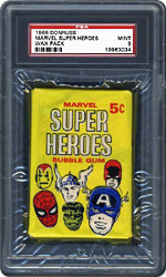 1966 Donruss Marvel Super Heroes Wax Pack