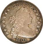 Original 1804 dollar included in the King of Siam Set