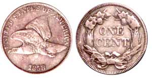 The 1857/8 overdate variety is rather scarce
