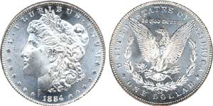 Treasury hoard distribution has made some 'rare' issues common, like the 1884-CC