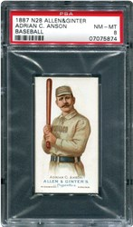 1887 N28 Allen & Ginter Adrian C. Anson (Baseball)