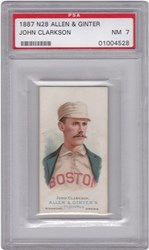 1887 N28 Allen & Ginter John Clarkson (Baseball)