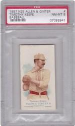 1887 N28 Allen & Ginter Timothy Keefe (Baseball)