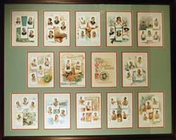 1888 Allen & Ginter World Champions album - framed!