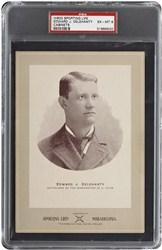 1902 W600 Sporting Life Cabinets Edward J. Delehanty