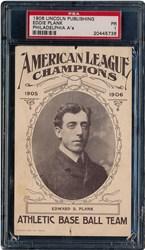 1906 Lincoln Publishing Philadelphia A's Eddie Plank