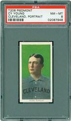T206 Piedmont Cy Young (Cleveland, Portrait)