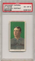 1909-1911 T206 Sweet Caporal Christy Mathewson (White Cap)