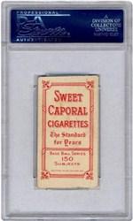 T206 Sweet Caporal Honus Wagner
