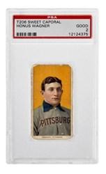 1909-1911 T206 Sweet Caporal Honus Wagner