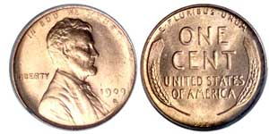 1909-S V.D.B Lincoln Cent. Click for larger image!