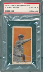 1910 E93 Standard Caramel Johnny Evers