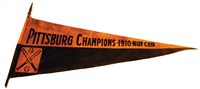 Pittsburg Pirates 'Champions - 1910 - Nuf Ced' Pennant