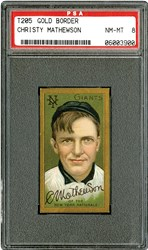 T205 Gold Border Christy Mathewson