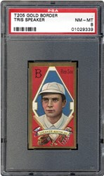 1911 T205 Gold Border Tris Speaker