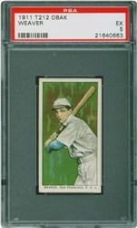 1911 T212 Obak Weaver