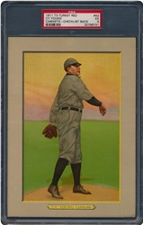 1911 Turkey Red Cabinets T3 Cy Young #42 (Checklist Back)