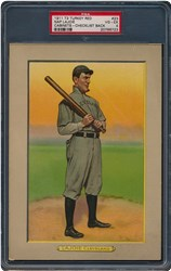 1911 Turkey Red Cabinets T3 Nap Lajoie #23 (Checklist Back)