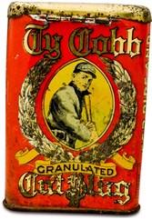 1912 Ty Cobb Tobacco Tin