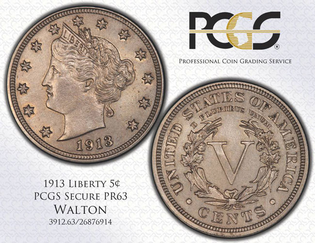 Pcgs Certifies World S Most Famous Coin The Walton 1913 Liberty