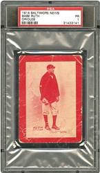 1914 Baltimore News Babe Ruth (Orioles)