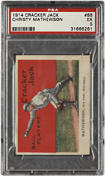 1914 Cracker Jack Christy Mathewson