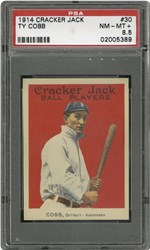1914 Cracker Jack Ty Cobb #30