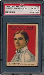 1915 Cracker Jack Christy Mathewson #88