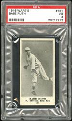 1916 Wares Babe Ruth #151