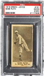1916 Green-Joyce Babe Ruth #151