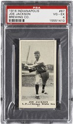 1916 Indianapolis Brewing Co. Joe Jackson #87
