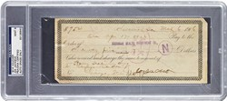 1916 Joe Jackson Signed Voucher