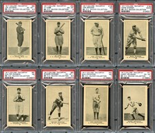 1917 Collins McCarthy Cards