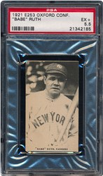 1921 E253 Oxford Confectionery 'Babe' Ruth