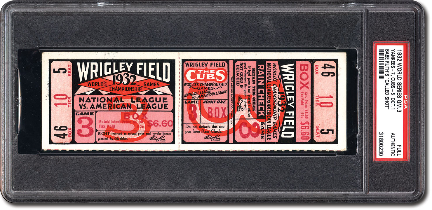 an analysis of the game between the chicago cubs and new york yankees in 1932 Presented here is a ticket from the first game of the 1932 world series between the new york yankees and chicago cubs this fall classic, a four game yankee sweep, was defined by babe ruth's famous called shot home run in game 3 lou gehrig crushed three home runs in this world series, while tony lazzeri and ruth each chipped in two game 1 of this series was a 12-6 yankee victory at their home ballpark.