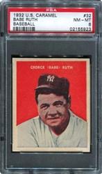 1932 U.S. Caramel Babe Ruth #32 (Baseball)