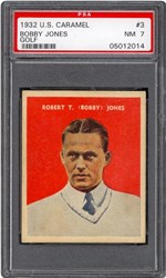 1932 U.S. Caramel Bobby Jones #3 (Golf)