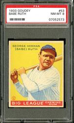 1933 Goudey Babe Ruth #53