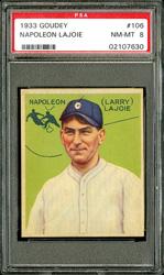 1933 Goudey Napoleon Lajoie #106
