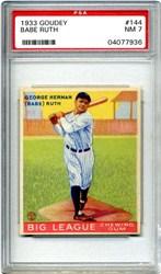 1933 Goudey Babe Ruth #144