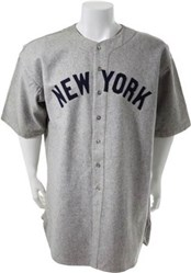Babe Ruth's 1935 'Last' Yankees Jersey