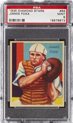 1935 Diamond Stars Jimmie Foxx #64