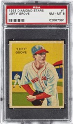 1935 Diamond Stars Lefty Grove #1