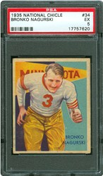 1935 National Chicle Bronko Nagurski #34
