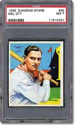 The Diamond Stars may not include Gehrig or Ruth, but they do have Mel Ott!