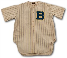 1938 Casey Stengel Boston Bees Game Worn Home Jersey - Sold For: $45,510