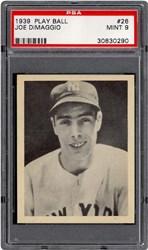 1939 Play Ball Joe DiMaggio #26