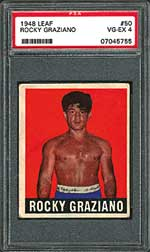 Darrin Silverman is 'always on the lookout' for the elusive 1948 Leaf Rocky Graziano card