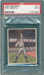 1950 Bowman Phil Rizzuto #11