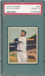 1950 Bowman Ted Williams #98